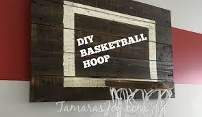 diy basketball hoop
