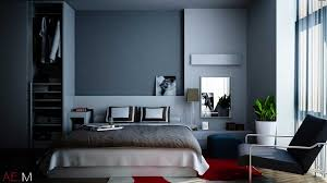 Cute Blue And Grey Bedroom Modern Bedrooms With Accent Wall 3 Condo