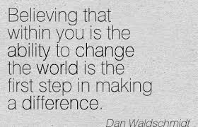 Making A Difference Quotes