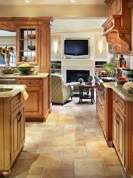 kitchen floor tiles small space: maple kitchen  maple kitchen