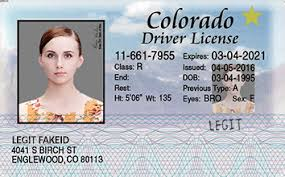 Colorado Id Card Legitfakeid Fake