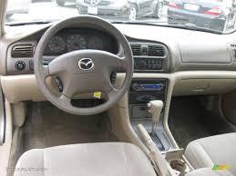 Beige Interior 2000 Mazda 626 LX Photo #53087315 | GTCarLot.com