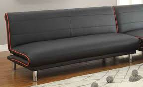 leather sofa bed. Black Leather Sofa Bed