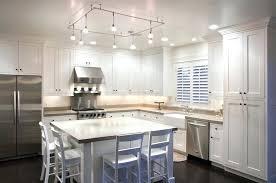 track lighting kitchen. Stainless Steel Kitchen Track Lighting Semi Flush Mount G