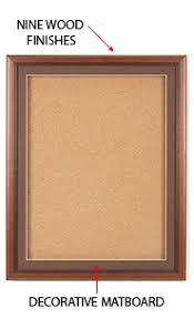extra large cork board. Wonderful Large Extra Large Designer Wood Enclosed Bulletin Cork Board SwingFrames 40x60 And