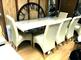 modern large dining table modern round dining table furniture modern round white fiberglass side table inside