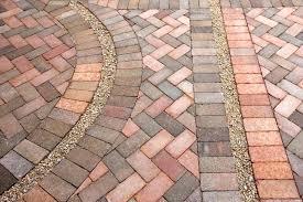 brick floor faux
