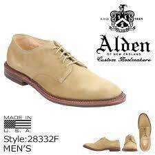 Alden Shoe Size Chart Alden Alden Shoes Unlined Plain Toe Blucher D Wise 28332f Men