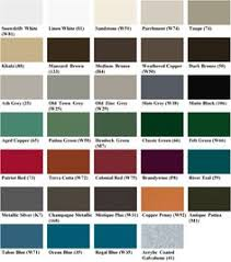 Standing Seam Roof Color Chart 19 Best Standing Seam Roof Images Standing Seam Roof