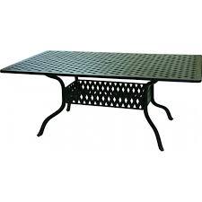 Aluminum Outdoor Dining Table Darlee Santa Monica 7 Piece Cast Aluminum Patio Dining Set With