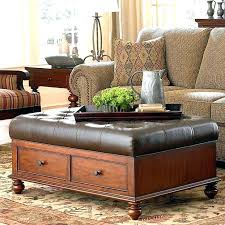 coffee table with seating underneath coffee table with two ottomans underneath extra large coffee table ottomans