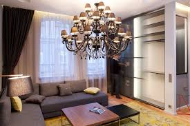 apartment apartment unique decorating ideas for small spaces apartments with wruoght iron chandeliers for small spaces image