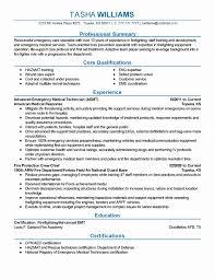 Emergency Medicine Resume Resume Work Template