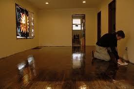 sanitizing wood flooring