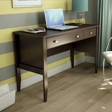 work desks home office. Beautiful Office Home Office Work Desk In Chocolate Brown Wood Finish For Desks W