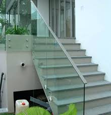 glass railing cost with smoke glass and with black frames home glass railing cost give star glass railing cost