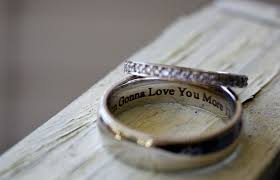 Super Wow New Wedding Rings Impressive Wedding Ring Engraving Quotes