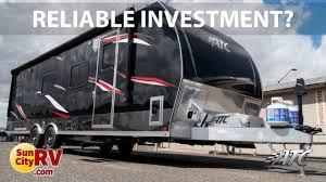 atc aluminum toy hauler reliable investment sun city rv phoenix