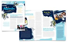 Child Advocates Newsletter Template Word Publisher