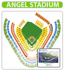 Angels Stadium 3d Seating Chart Angel Stadium Seat Online Charts Collection