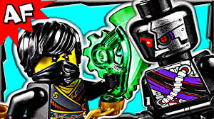 HOVER HUNTER 70720 Lego Ninjago Rebooted Stop Motion Set Review - YouTube