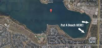Calgary Needs A 10 Public Beach At Glenmore Reservoir
