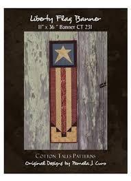 89 best Cotton Tales Patterns! images on Pinterest | Workshop ... & Liberty Flag Banner a bit of Americana. Flag BannersFlagsQuilt ShopsBusiness  ... Adamdwight.com