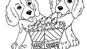 Cute Dogs Coloring Book Cute Dog Coloring Pages With Cute Dog