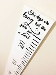 Diy Growth Chart Ruler Silhouette Cameo Cut File Wood