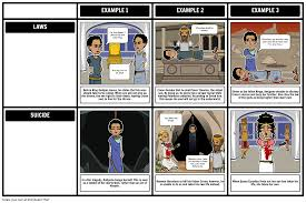 antigone themes symbols and motifs storyboard