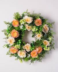 ... English Garden Rose Wreath ...