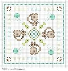 Free Biscornu Charts Cross Stitch Happy Robertas Cats Biscornu