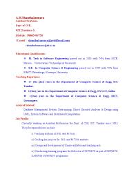 We found 70++ Images in Lecturer Resume Format For Computer Science Gallery: