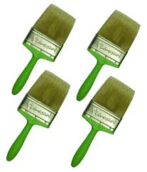 padmashri green painting brush set of 4 at low in india snapdeal