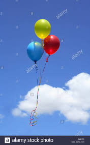 Balloons Floating Stock Photos Balloons Floating Stock