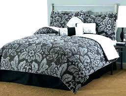 black damask bedding duvet cover king