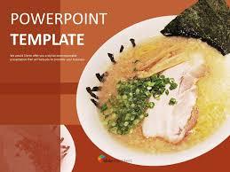Food Presentation Template Ramen Free Presentation Templates