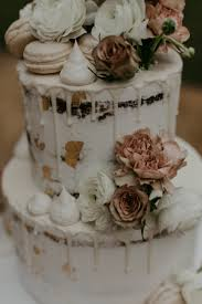 20 Scrumptious Naked Wedding Cakes Hello May