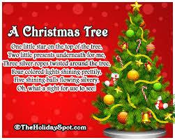 A christmas Tree - Christmas poem