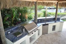 Outside Kitchen Outside Kitchens And Fireplaces A1 Plus Stone Design Inc