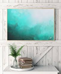 like this item  on abstract watercolor wall art with watercolor print abstract art teal abstract watercolor