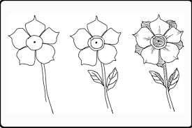 Small Picture Drawings of Flowers for Beginners When Drawing Flowers Becomes a