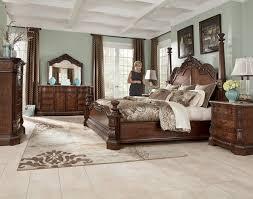 Poster Bedroom Furniture Buy Ledelle Poster Bedroom Set By Signature Design From Www