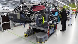 number 918 rolls out of the manufactory 918 spyder manufacture zuffenhausen 2015 porsche ag