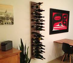 ... Great Ideas For Kitchen And Dining Room Decoration With Wine Rack :  Enchanting Dining Room And ...