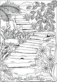Nature Coloring Pages Printable Journal With New Or Gravity Falls