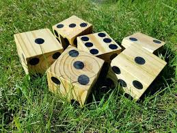 yard dice make oversized wood