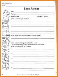 Free Book Report Templates Sample 5th Grade Book Report Template Book Report Format 8 Free