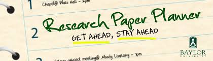 libraries baylor university research paper planner contributes to student success