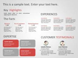 Company Overview Templates Company Overview Powerpoint Templates Slideuplift